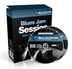 blues jam session box and CDs