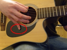 hand positioning for picking