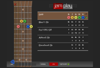 Jamplay chord namer