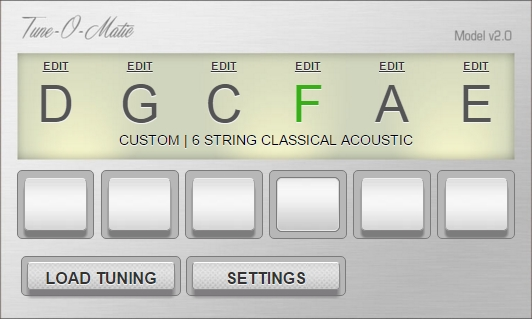 Tune-O-Matic online guitar tuner