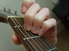 photo of A major chord