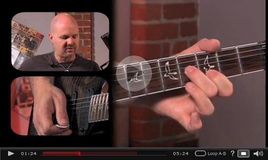 blues chord phrasing video
