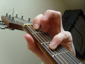 photo of C minor open chord