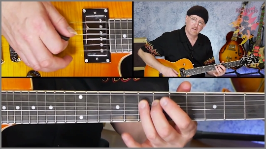 Riff Ninja Blues Scales Course