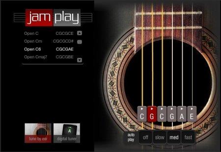Jamplay online guitar tuner
