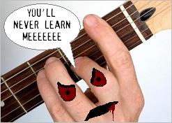barre chord monster