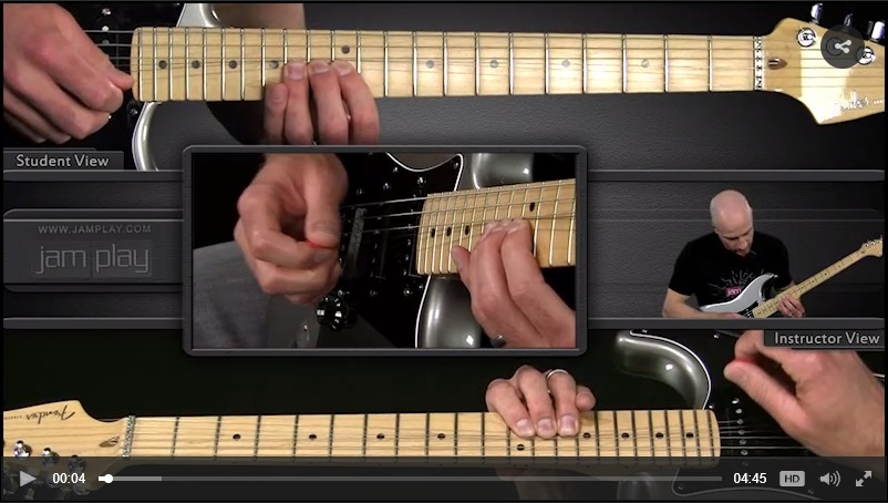 multi camera blues video guitar lesson