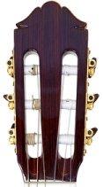 classical guitar headstock