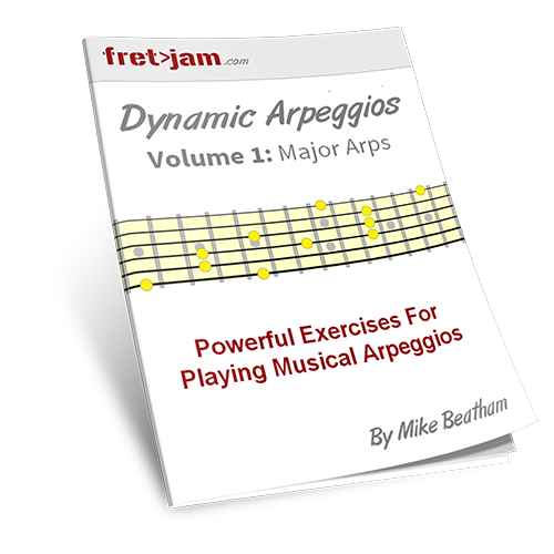 Learn to play arpeggios