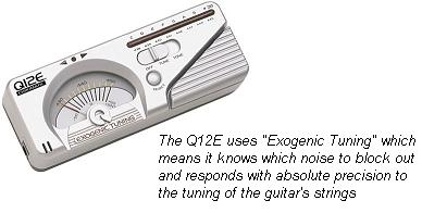 exogenic guitar tuner