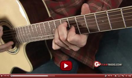 guitar chord video