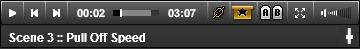 Jamplay video control bar