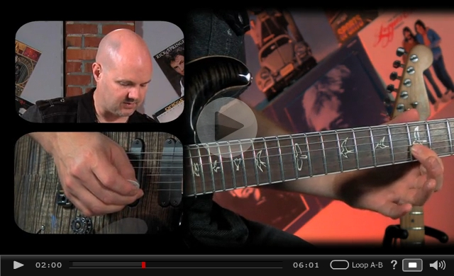 legato slides lead guitar video lesson