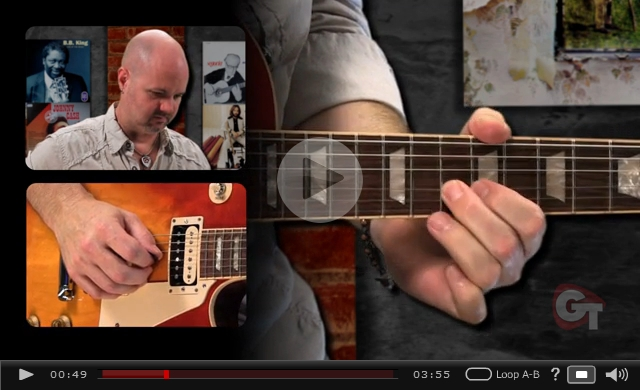 blues turnaround video lesson