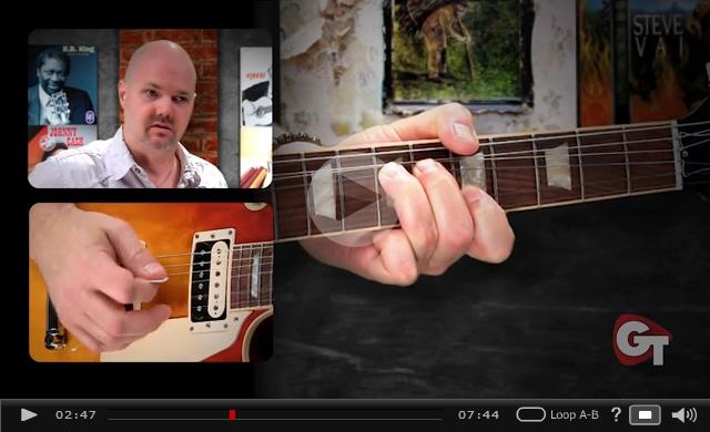 unison string bends video