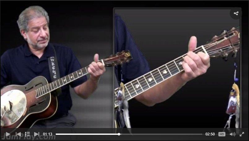 Hawkeye Herman blues chords video