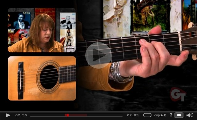 basic guitar chord changes video