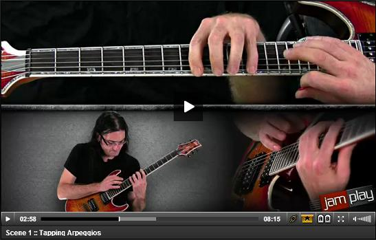 tapping arpeggios video