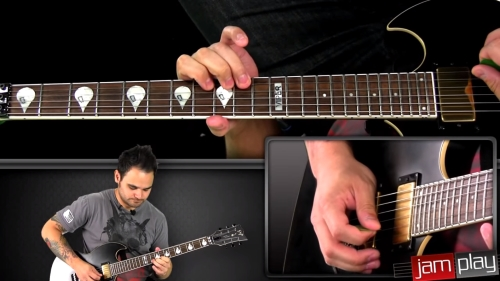 Jamplay multiple camera angle guitar lessons