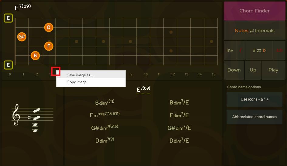 Saving chord diagram in Oolimo