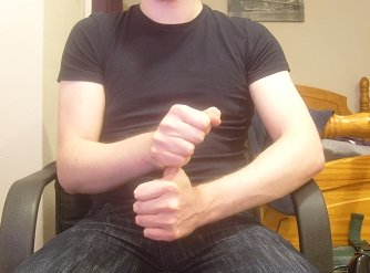 thumb stretching exercise