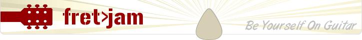 logo for fretjam.com